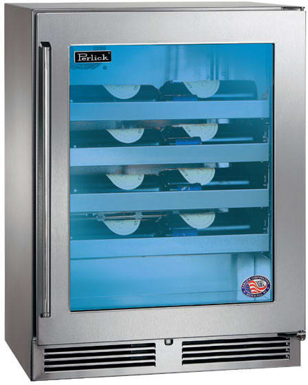 Perlick Hh24ws34r 24 Inch Built In Counter Depth Wine