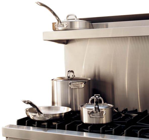 Viking B36hs24ss Stainless Steel High Shelf For 36 Inch