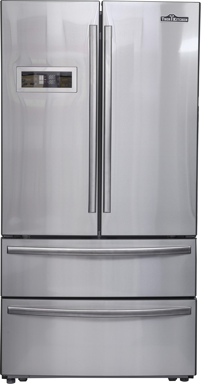 thor kitchen hrf3601f 36 inch 4 door counter depth french door