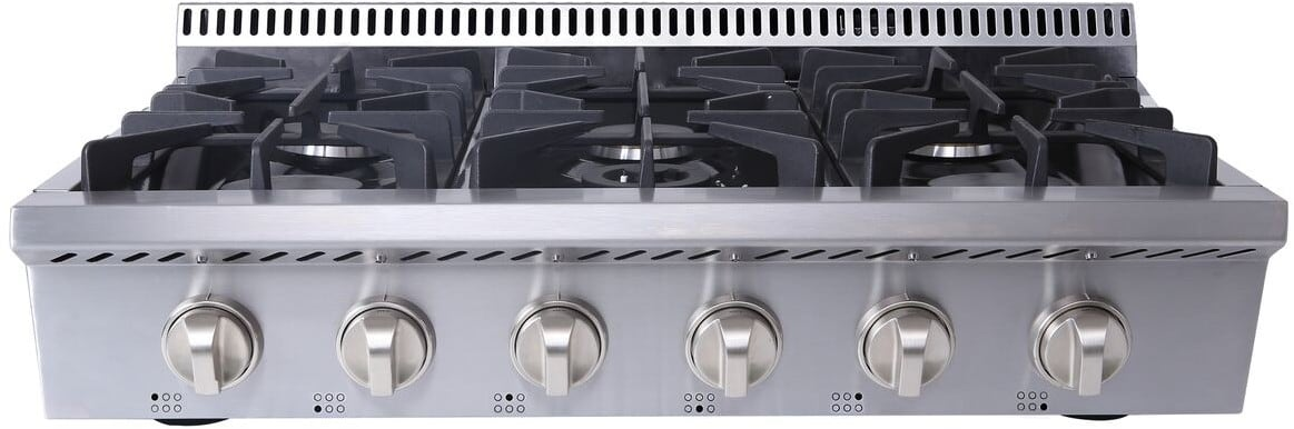Thor Kitchen Hrt3618u 36 Inch Gas Rangetop With Led