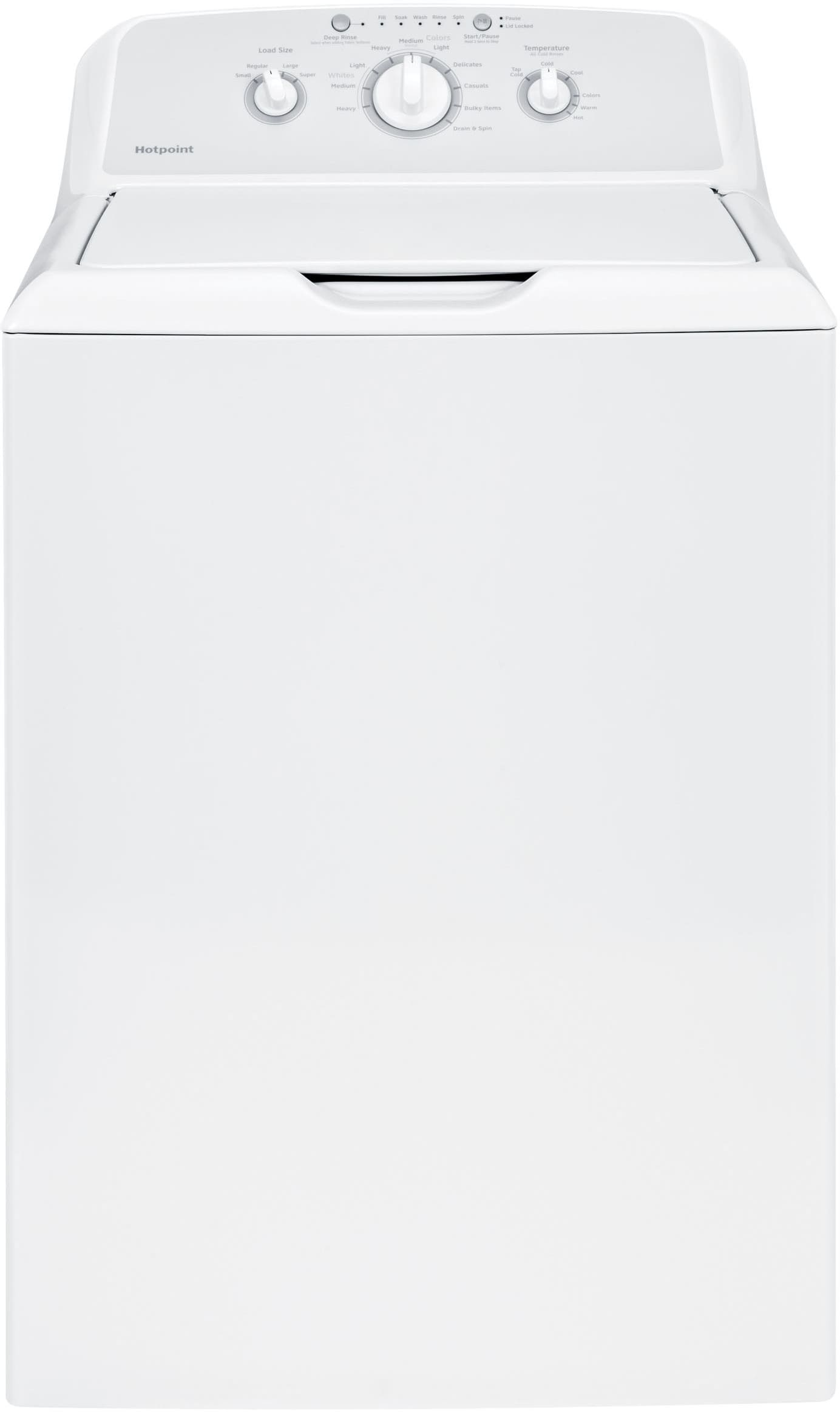 Hotpoint Top Loading Washing Machine Hotpoint Htw240askws 27 Inch Top Load Washer With 36 Cu Ft