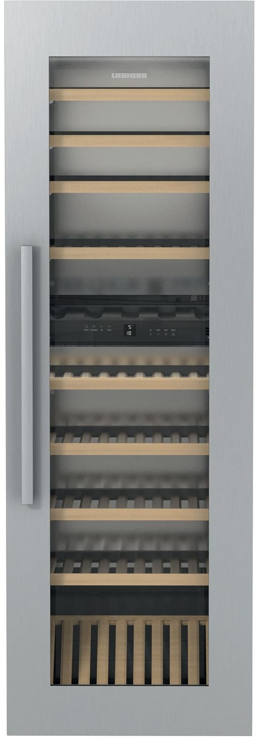 Liebherr Hw8000 24 Inch Built In Dual Zone Wine Cabinet