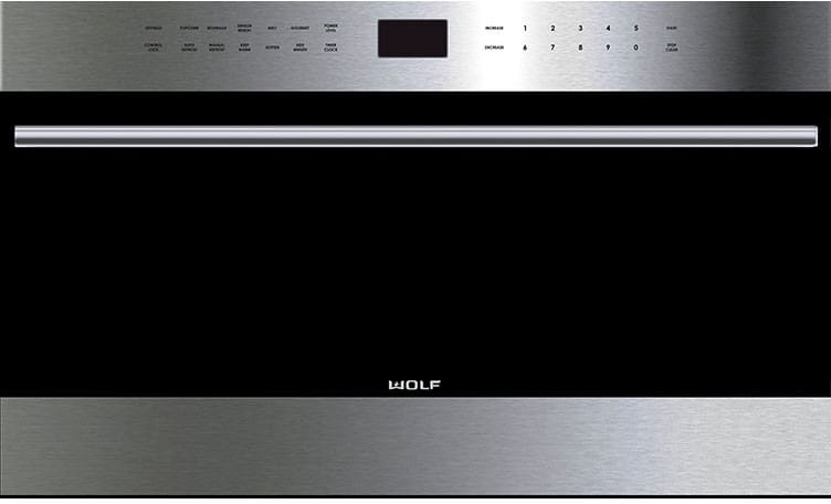 Wolf Mdd24testh 24 Inch Built In Transitional Microwave