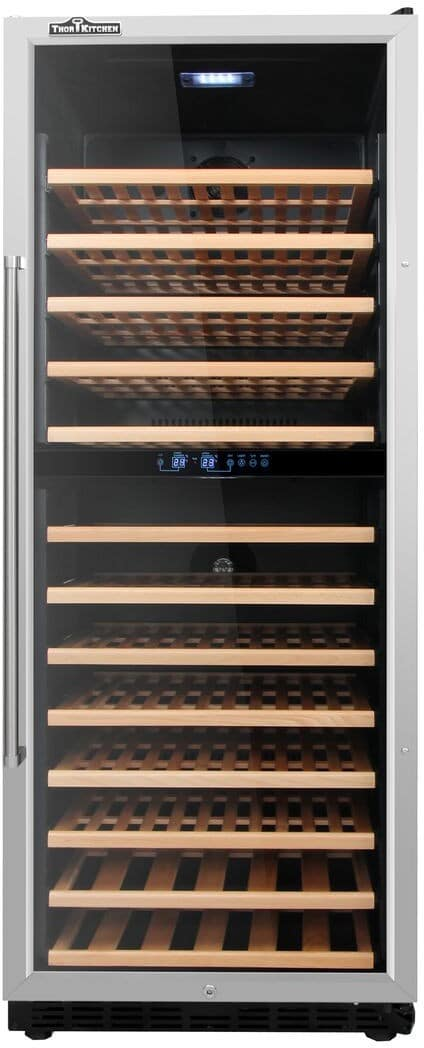Thor Kitchen Hwc2408u 24 Inch Built In Wine Cooler With
