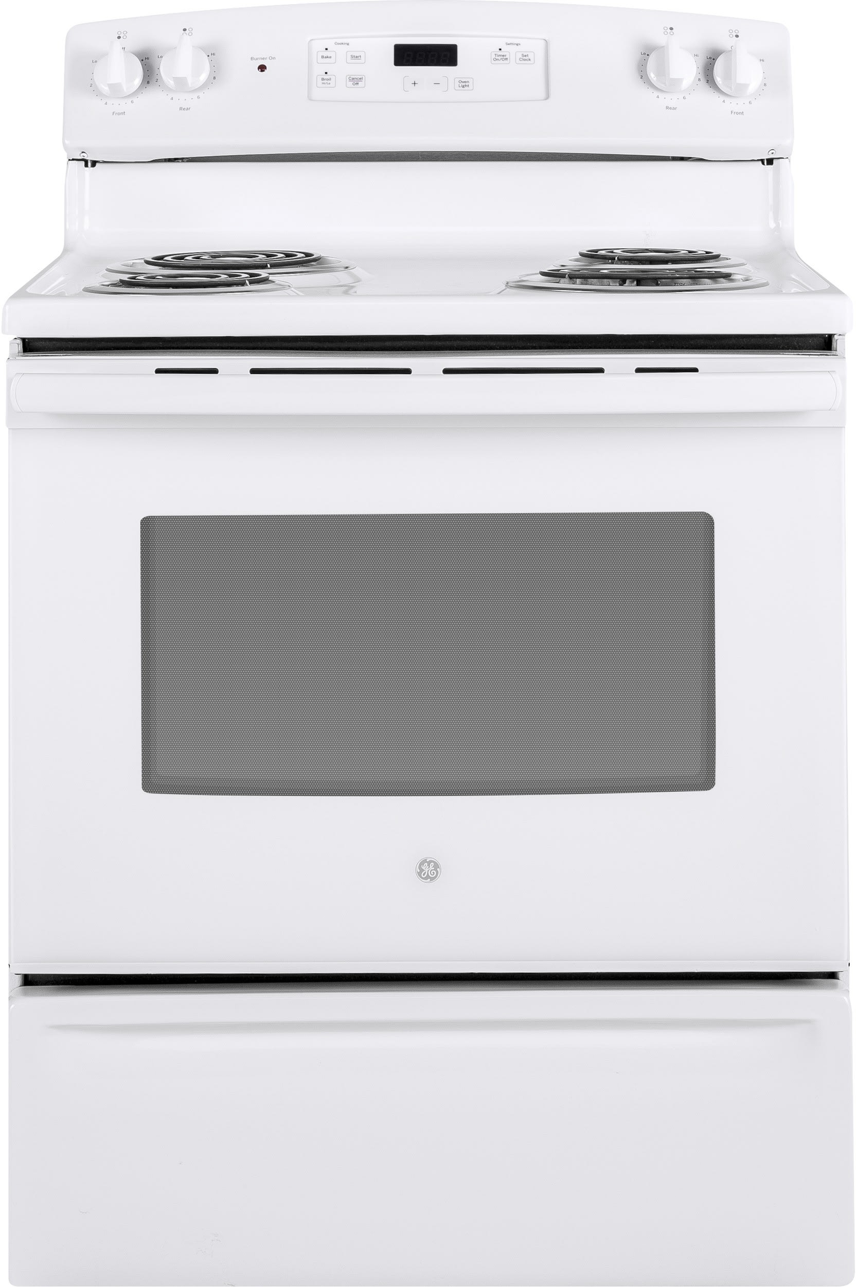 Ge Jbs30dkww 30 Inch Freestanding Electric Range With Dual