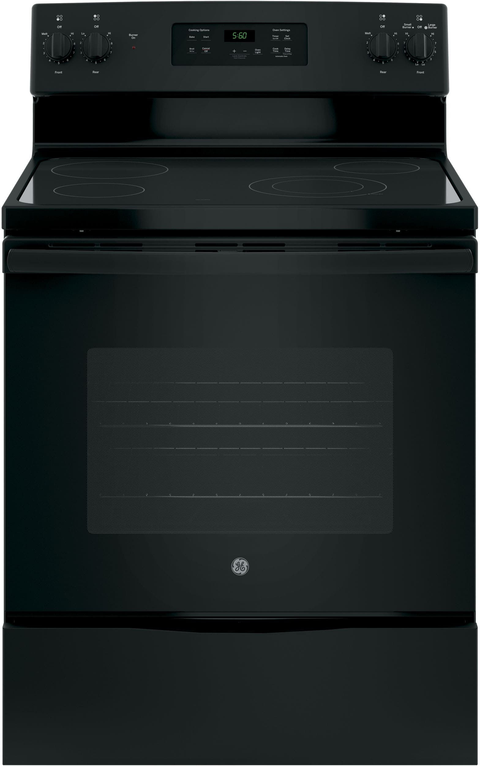 Ge Jbs60dkbb 30 Inch Electric Range With Power Boil Burner
