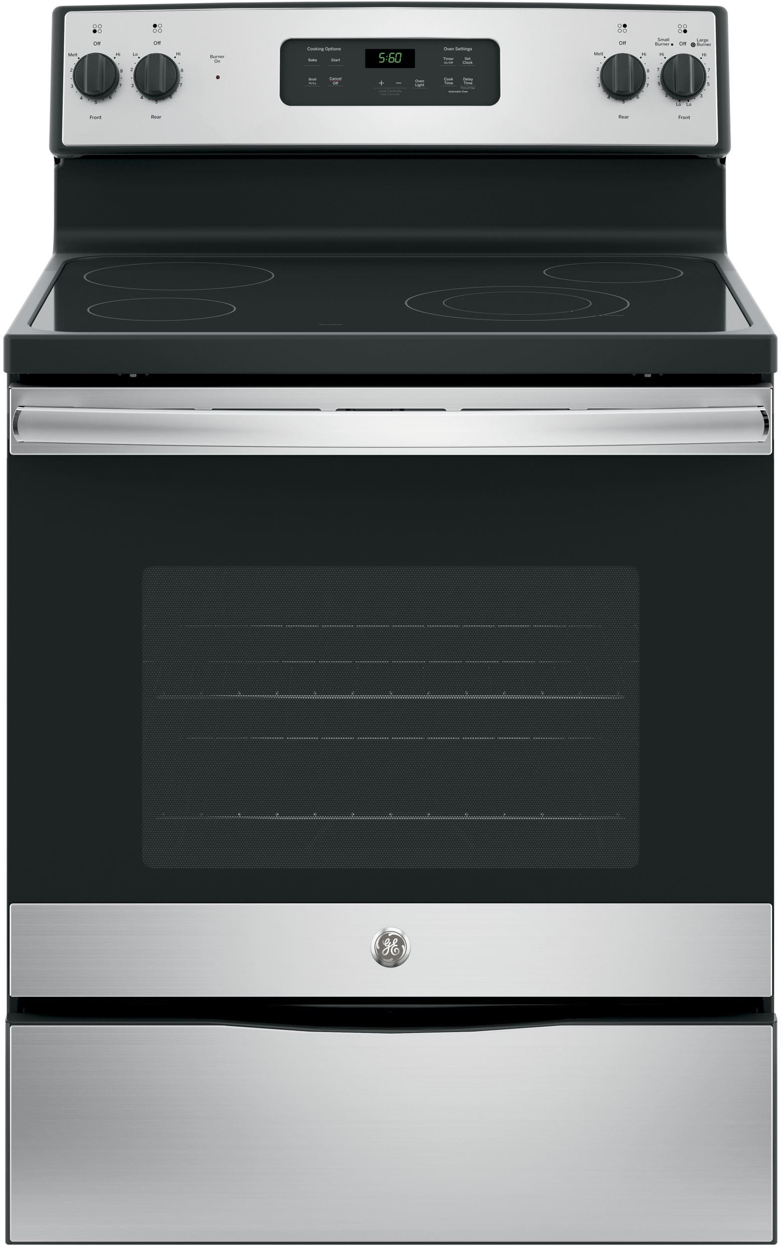 Ge Jbs60rkss 30 Inch Electric Range With Power Boil Burner