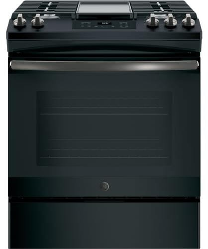 Ge Jgss66felds 30 Inch Slide In Gas Range With Integrated