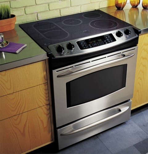 Kitchen Stove Installation Guide: GE JS968SFSS 30 Inch Slide-In CleanDesign Electric