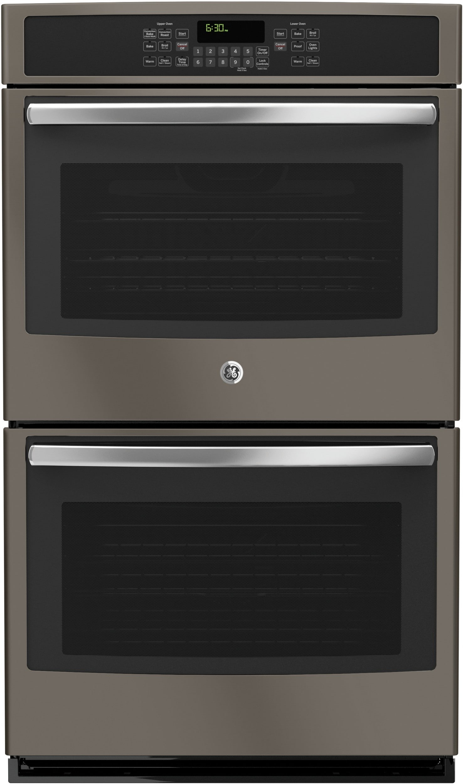 ge jt5500ejes 30 inch electric double wall oven with true convection self clean glass touch. Black Bedroom Furniture Sets. Home Design Ideas