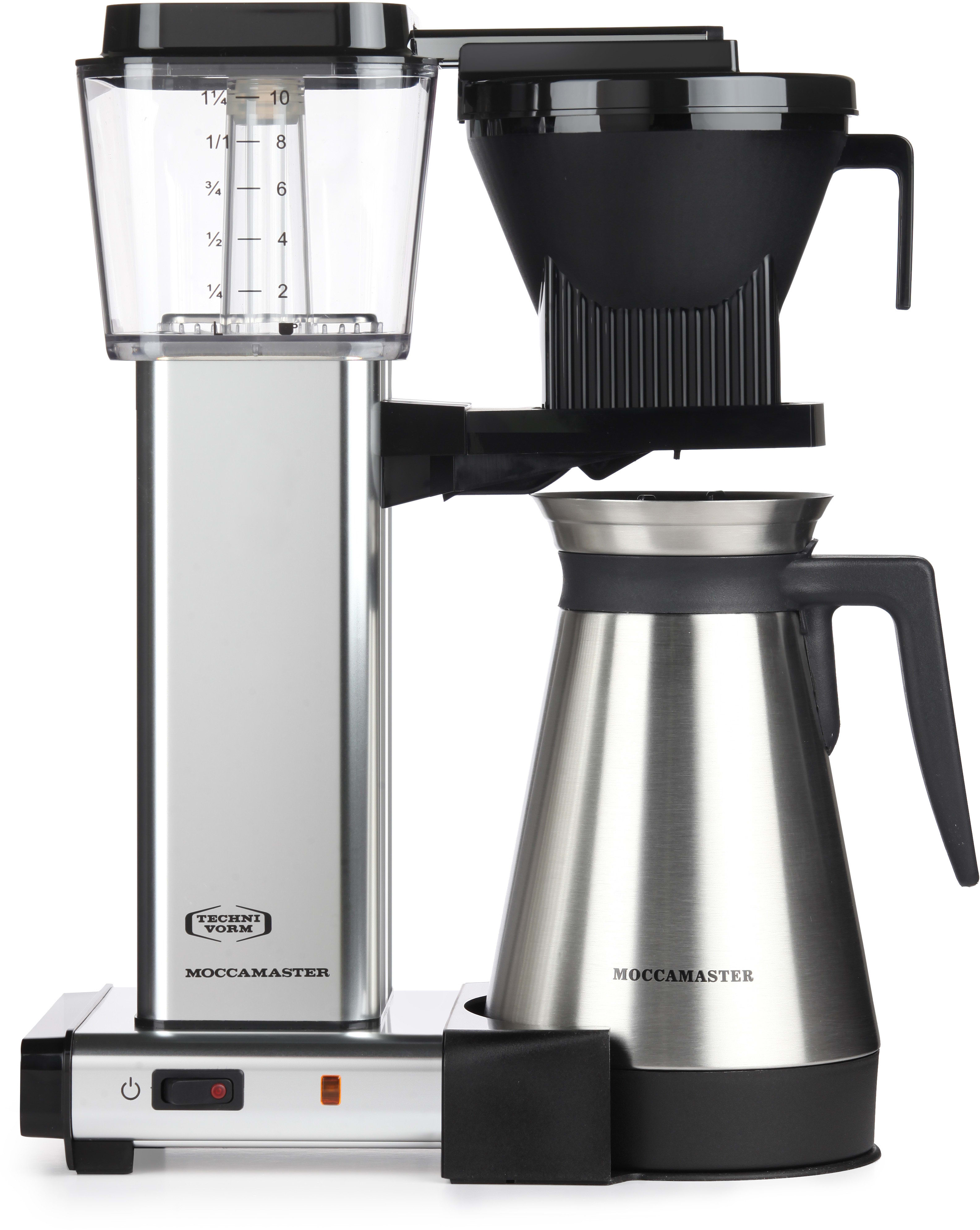 Coffee Maker With Copper Heating Element : Technivorm 79312 Moccamaster KBGT Drip Coffee Maker with Copper Boiling Element, Auto Drip-Stop ...