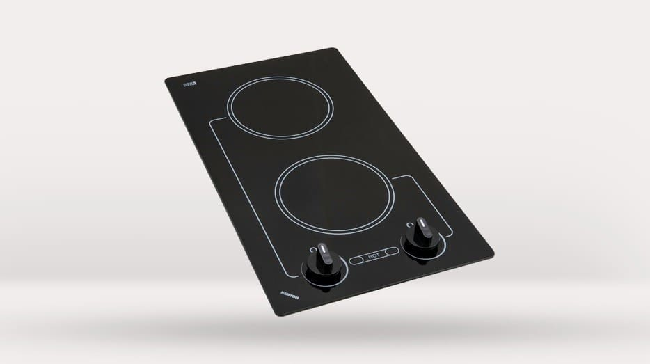 kenyon b41602 12 inch smoothtop electric cooktop with two 6-1/2