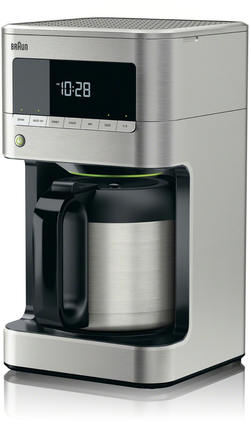 Braun Kf7175si Brewsense Drip Coffee Maker With Pureflavor