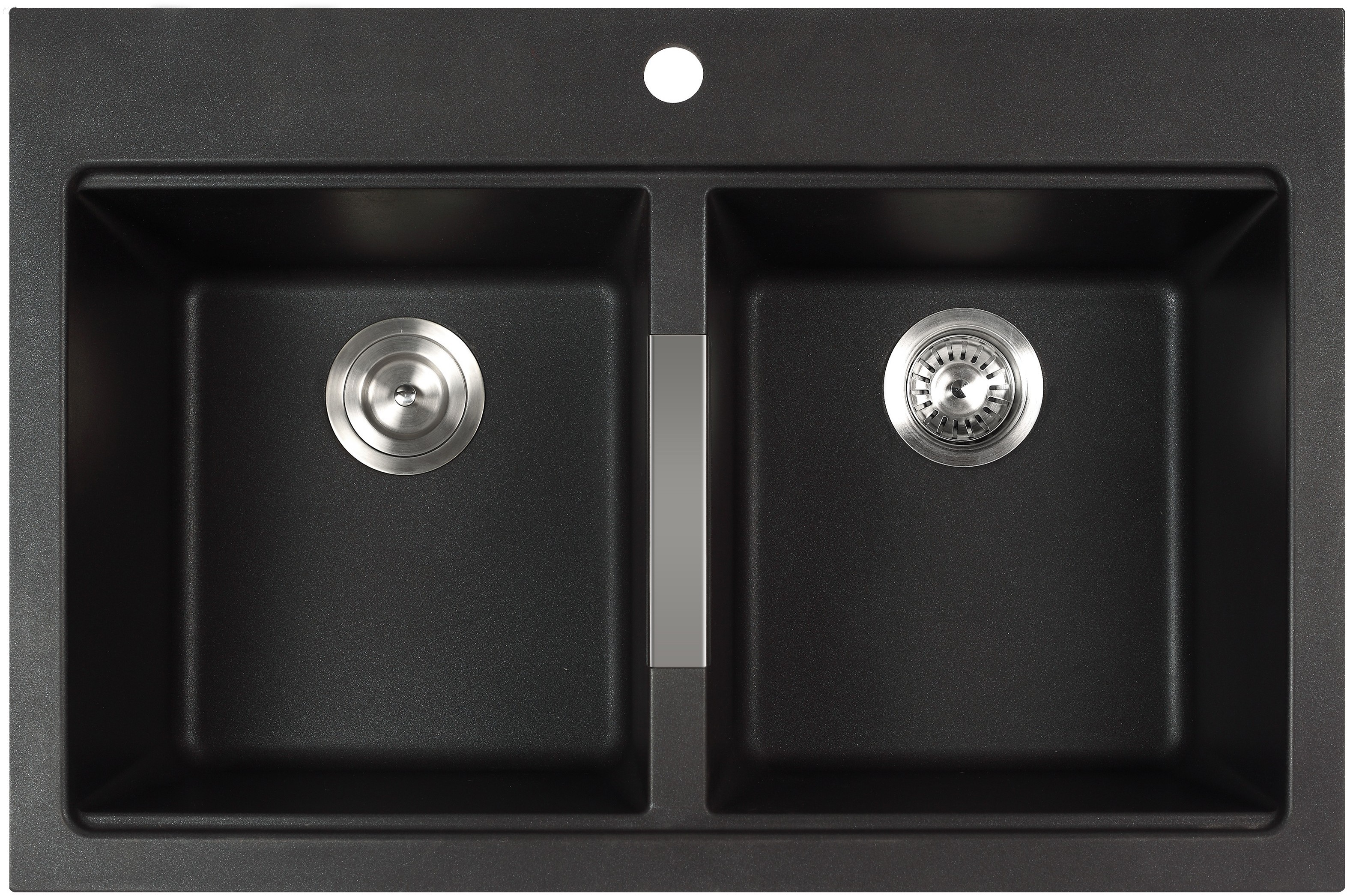 Kraus Kgd433b 33 1 2 Inch Undermount Drop In Double Bowl