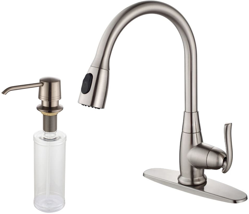 Kraus Kpf2230ksd30sn Single Lever Pull Out Kitchen Faucet