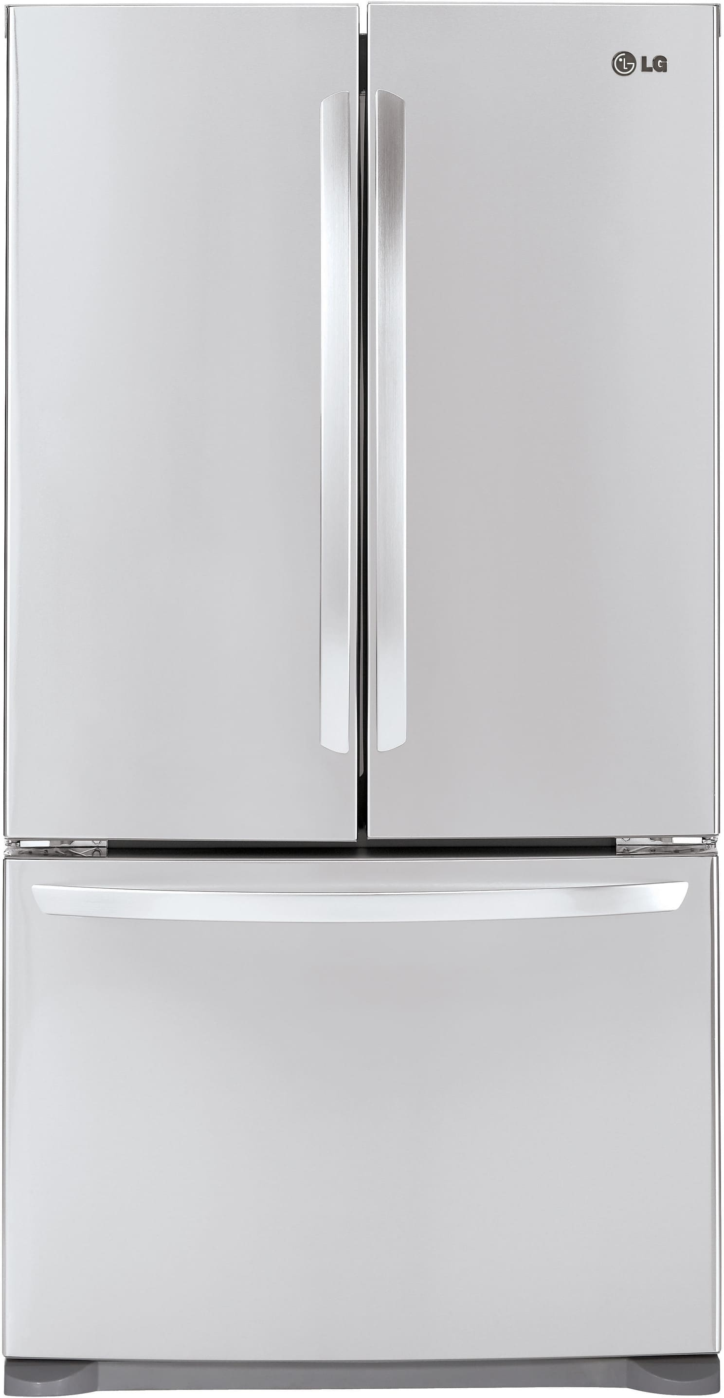 Lg Lfc21776st 36 Inch Counter Depth French Door Refrigerator With