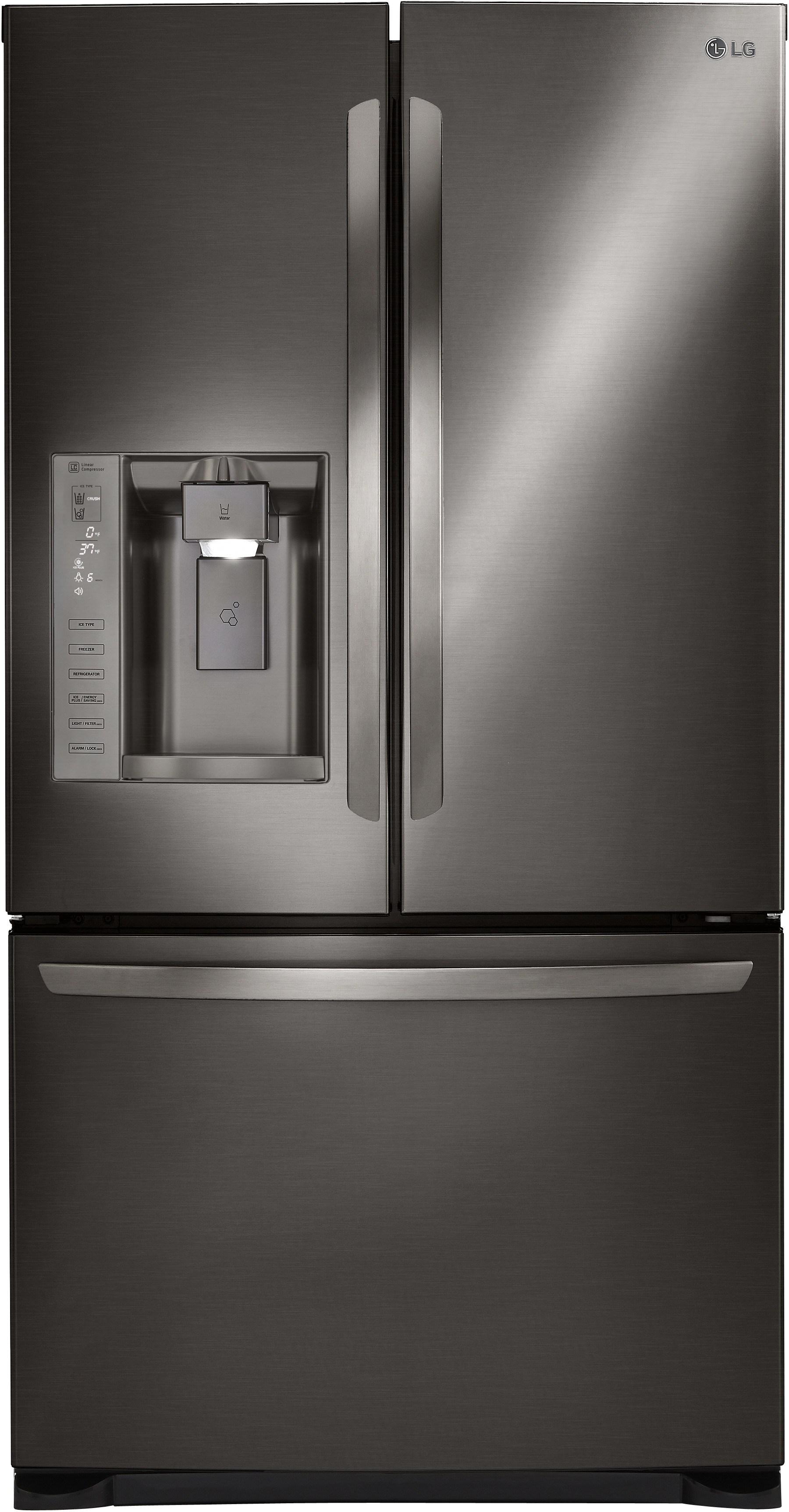 Lg Lfx25973d 36 Inch French Door Refrigerator With Slim