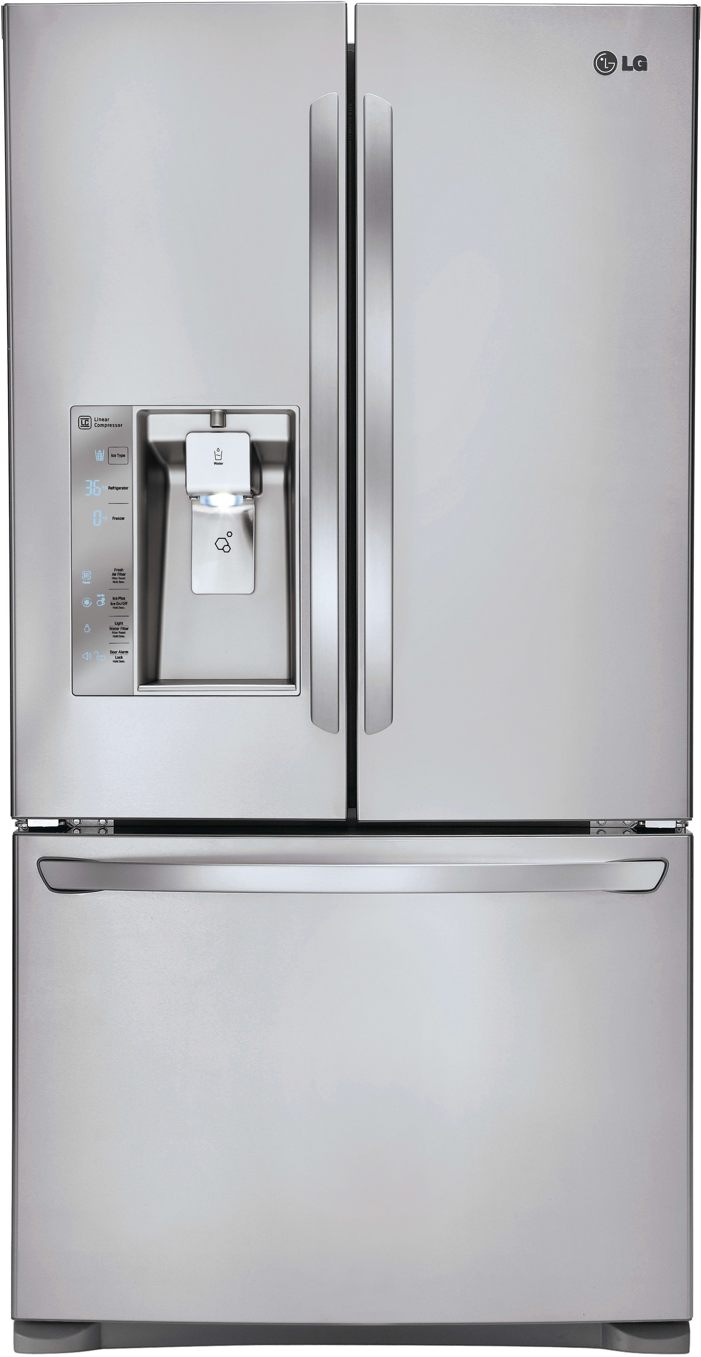 Lg Lfxc24726s 36 Inch Counter Depth French Door