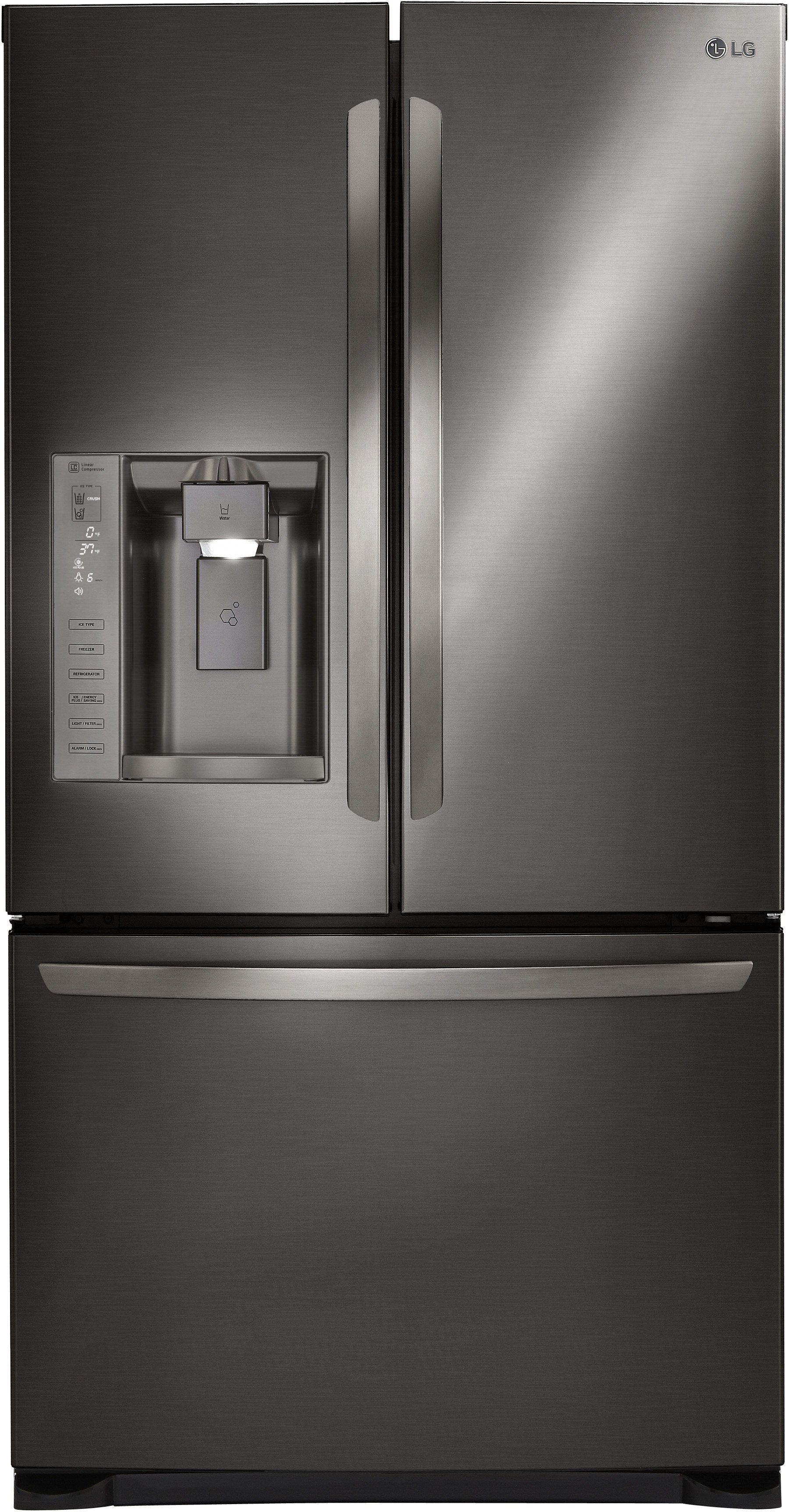 Lg Lfxs24626d 36 Inch French Door Refrigerator With Tall