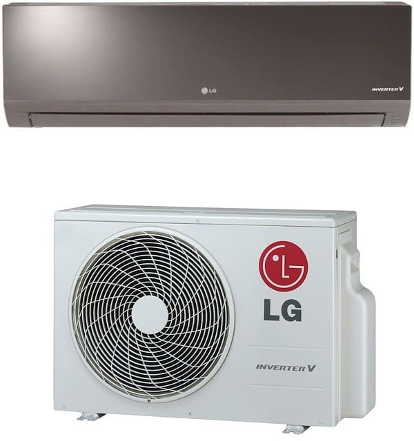 lg la090hsv4 9 000 btu single zone mini split with 10 800 btu heating capacity 4 way auto swing. Black Bedroom Furniture Sets. Home Design Ideas