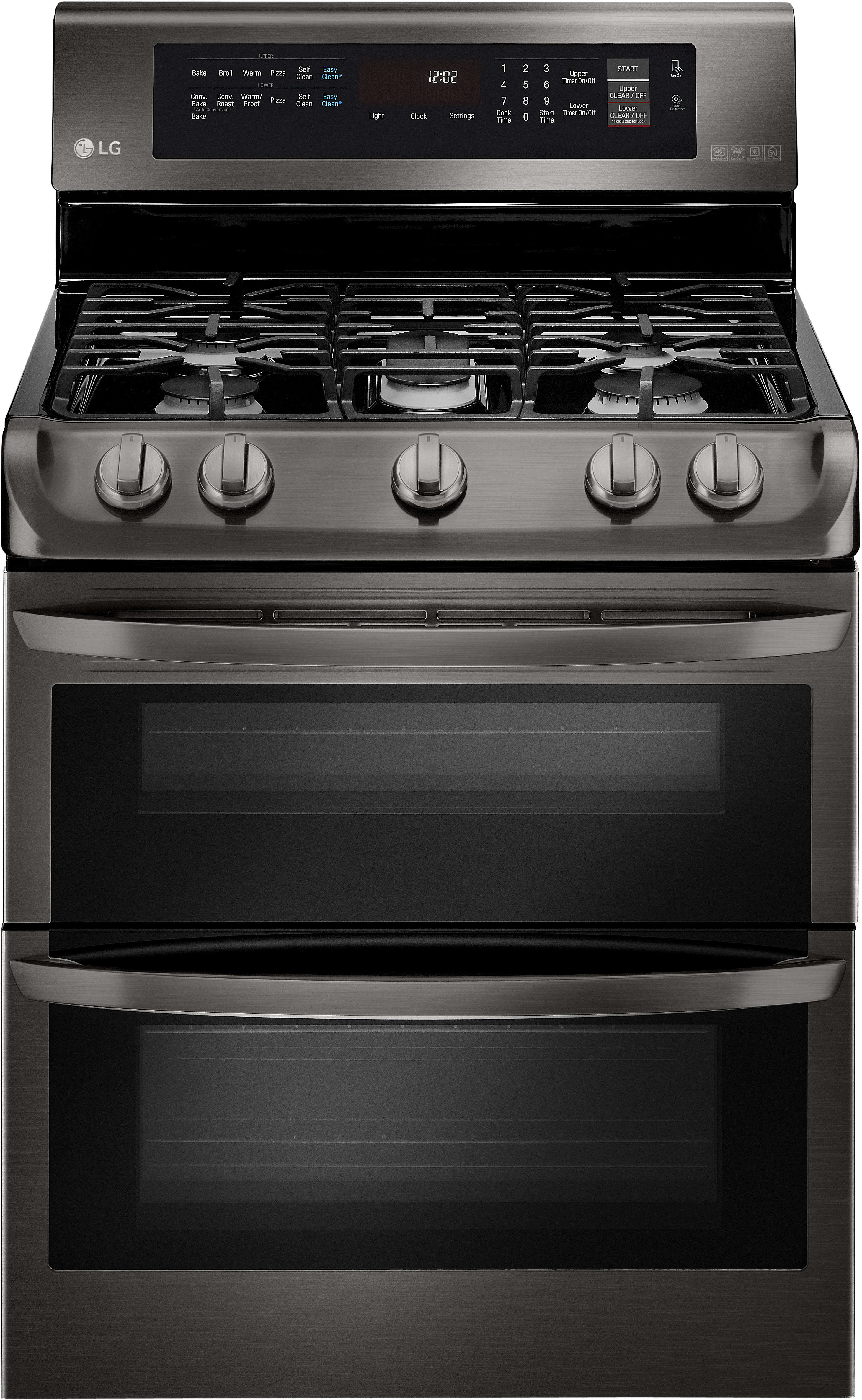 Lg Ldg4315 30 Inch Double Oven Gas Range With Probake
