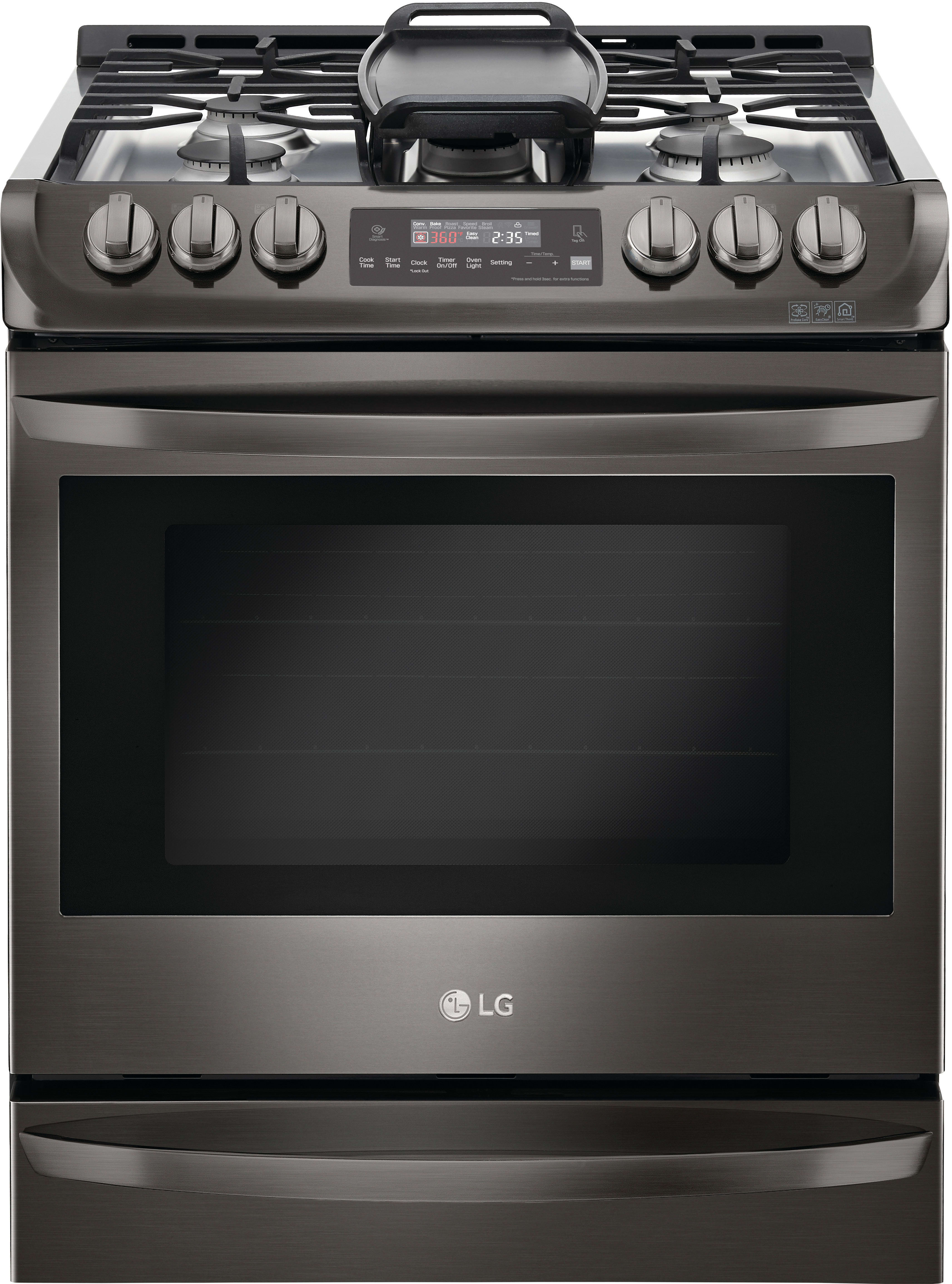 Lg Lsg4513bd 30 Inch Slide In Gas Range With Convection