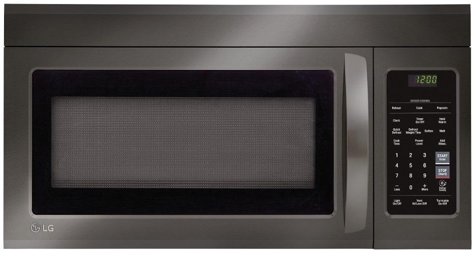 Lg Lmv1831bd 1 8 Cu Ft Over The Range Microwave Oven