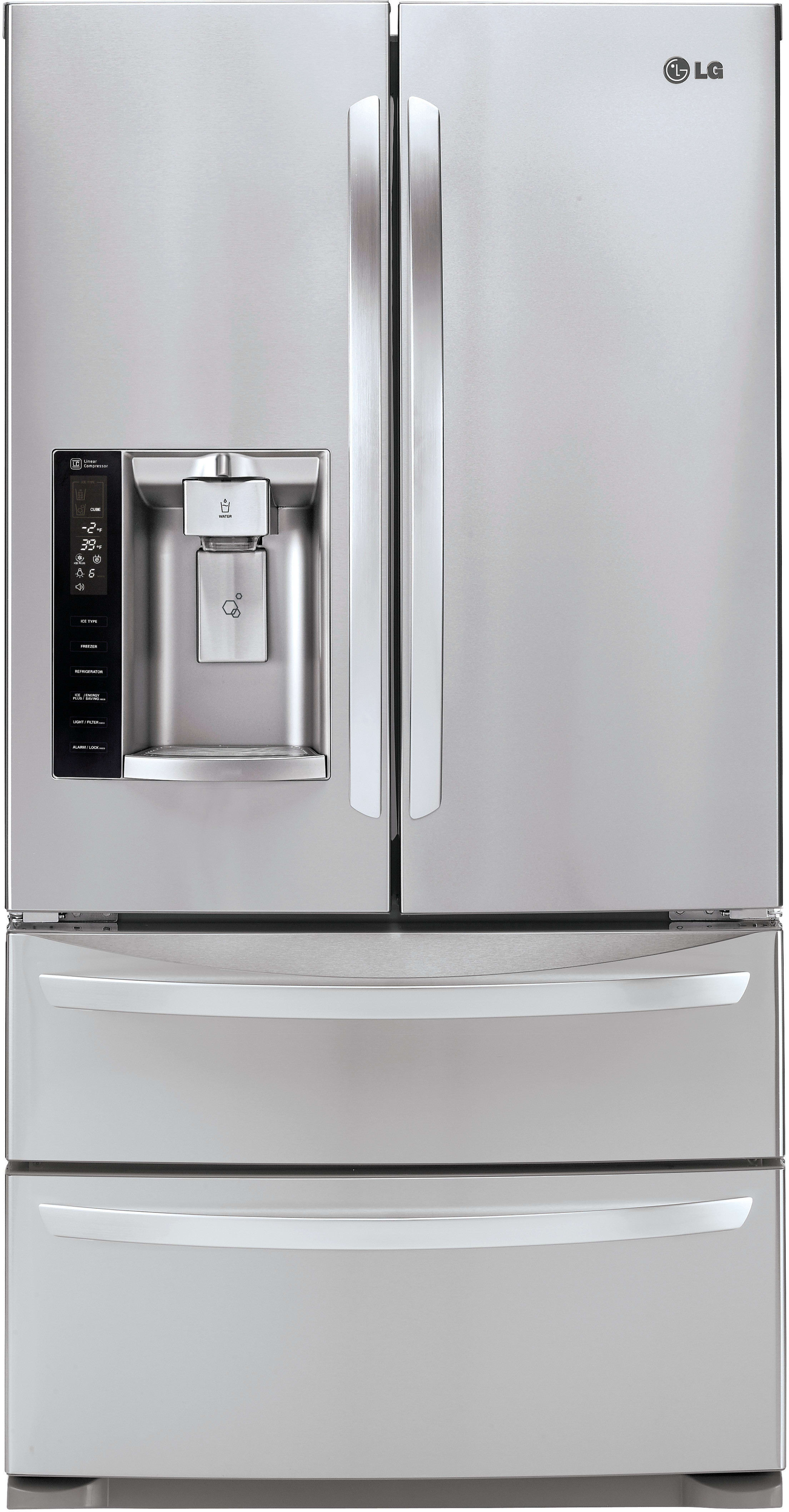 Lg Lmxs27626s 36 Inch 4 Door French Door Refrigerator With