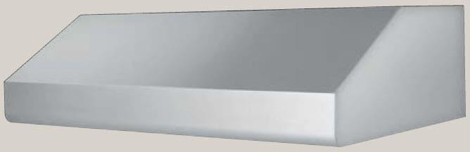 Prizer Hoods Low Profile Series LP36SS6   Low Profile Under Cabinet Range  Hood ...
