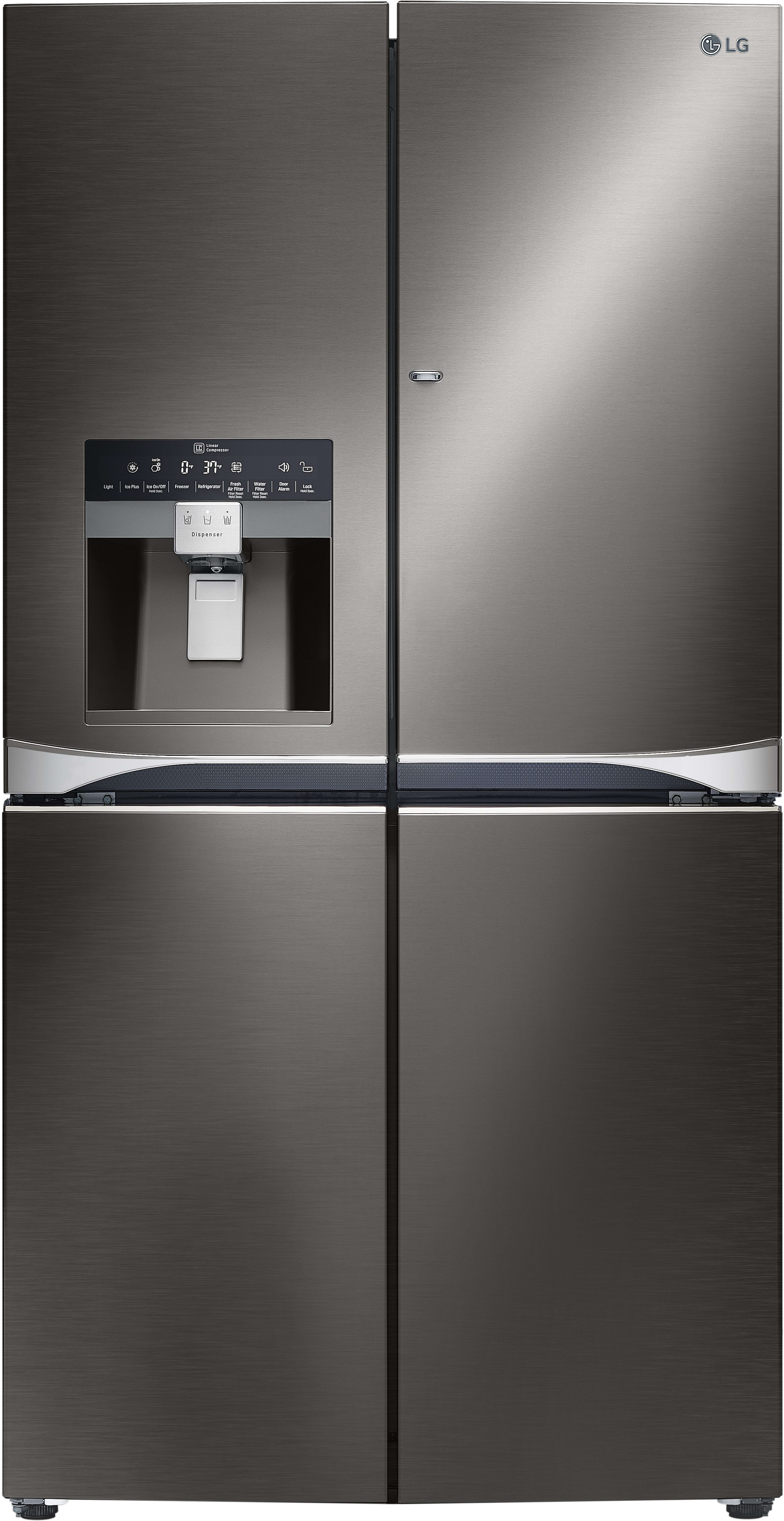 Lg Lpxs30866d 36 Inch 4 Door French Door Refrigerator With