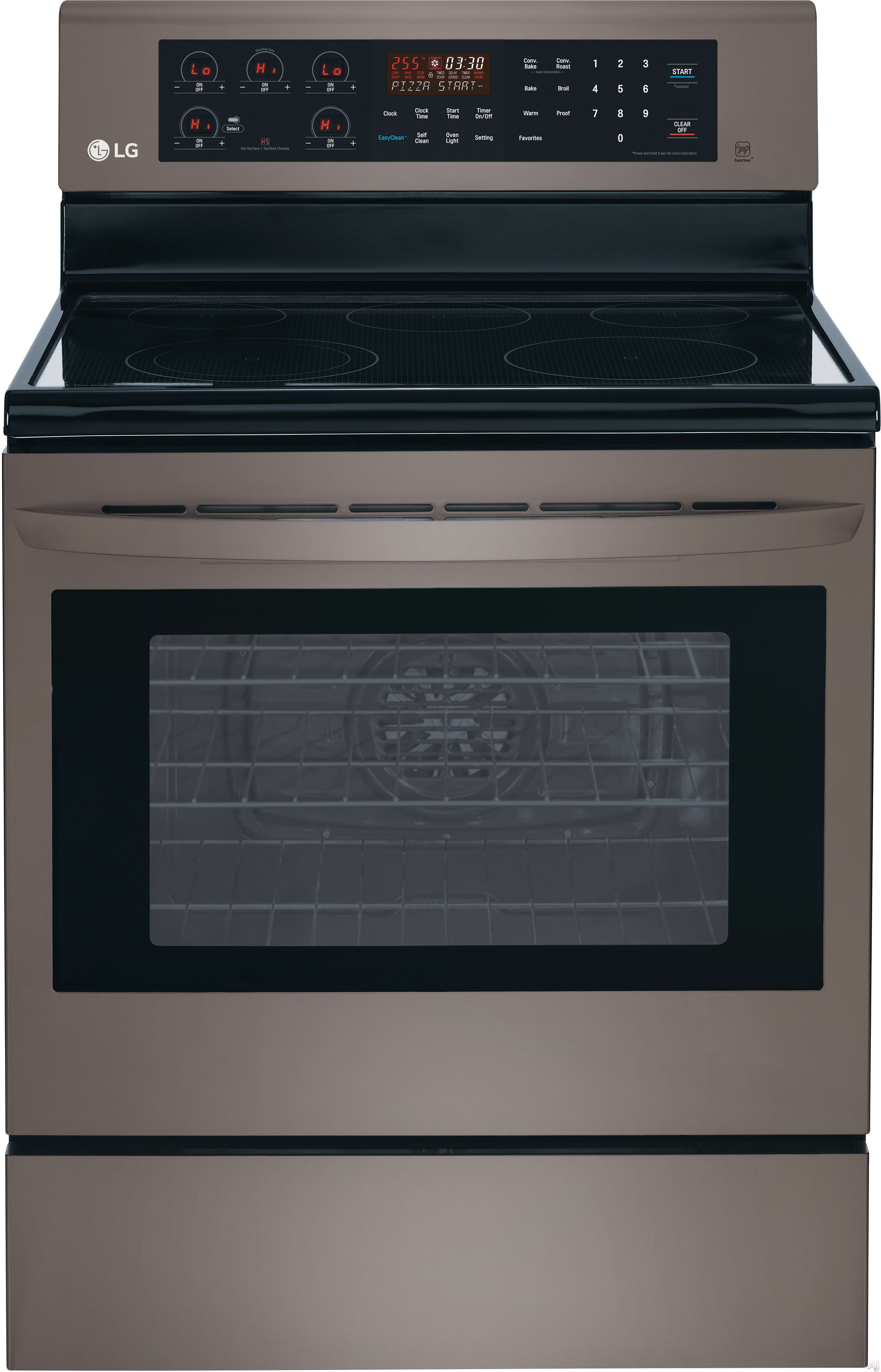 Lg Lre3083 30 Inch Electric Range With True Convection