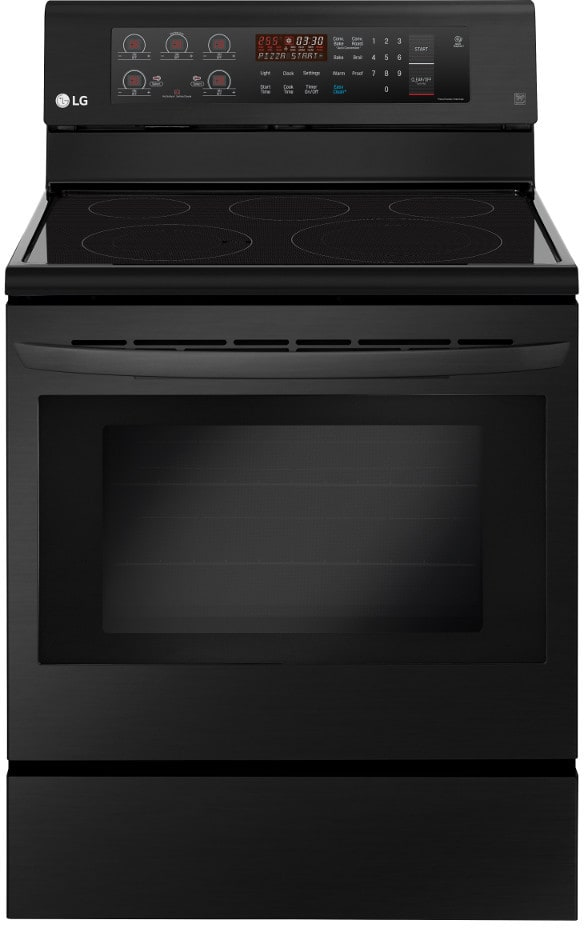 Lg Lre3193bm 30 Inch Freestanding Electric Range With True