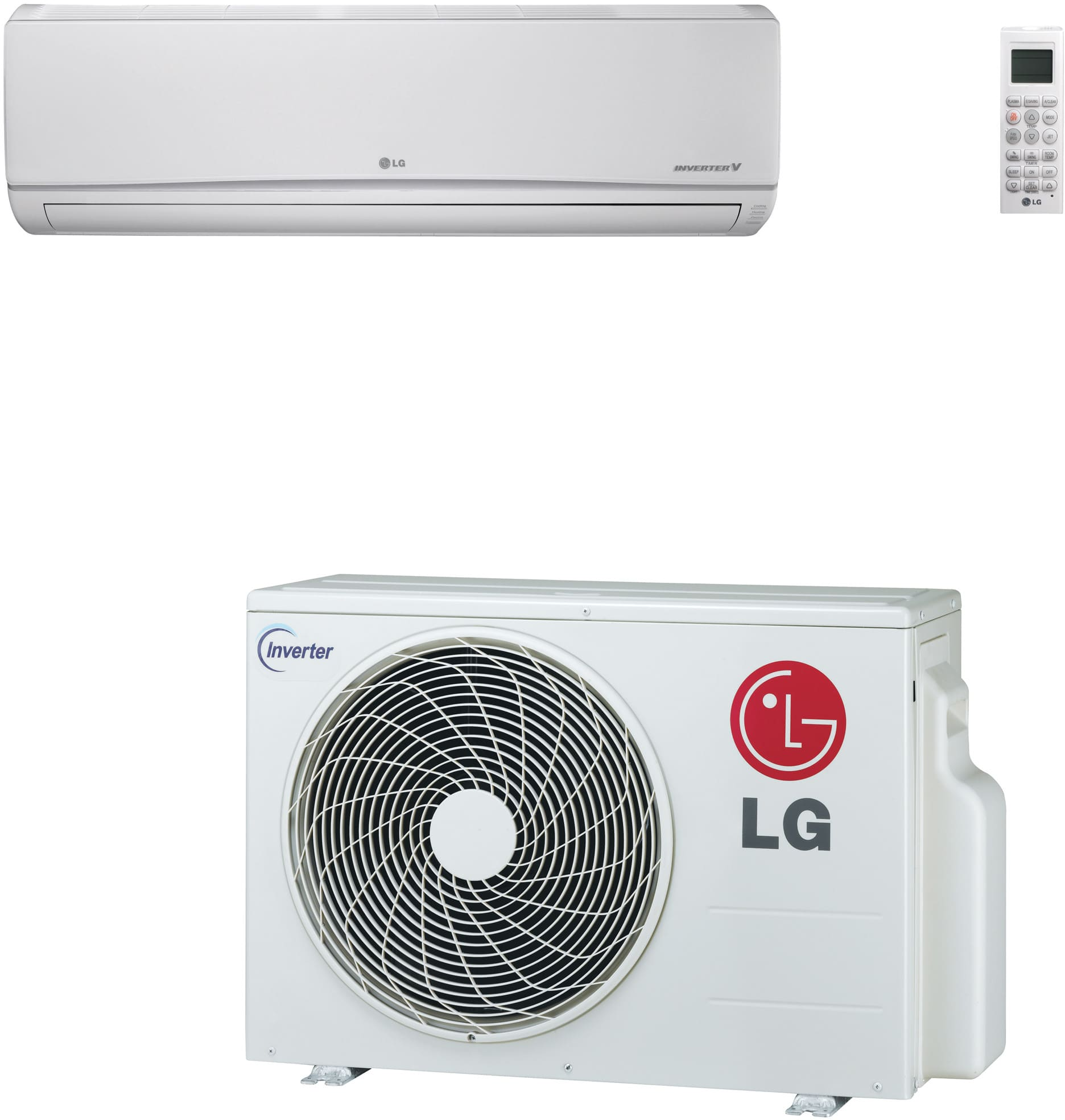 Lg Ls181hsv3 18 200 Btu Single Zone Wall Mount Ductless