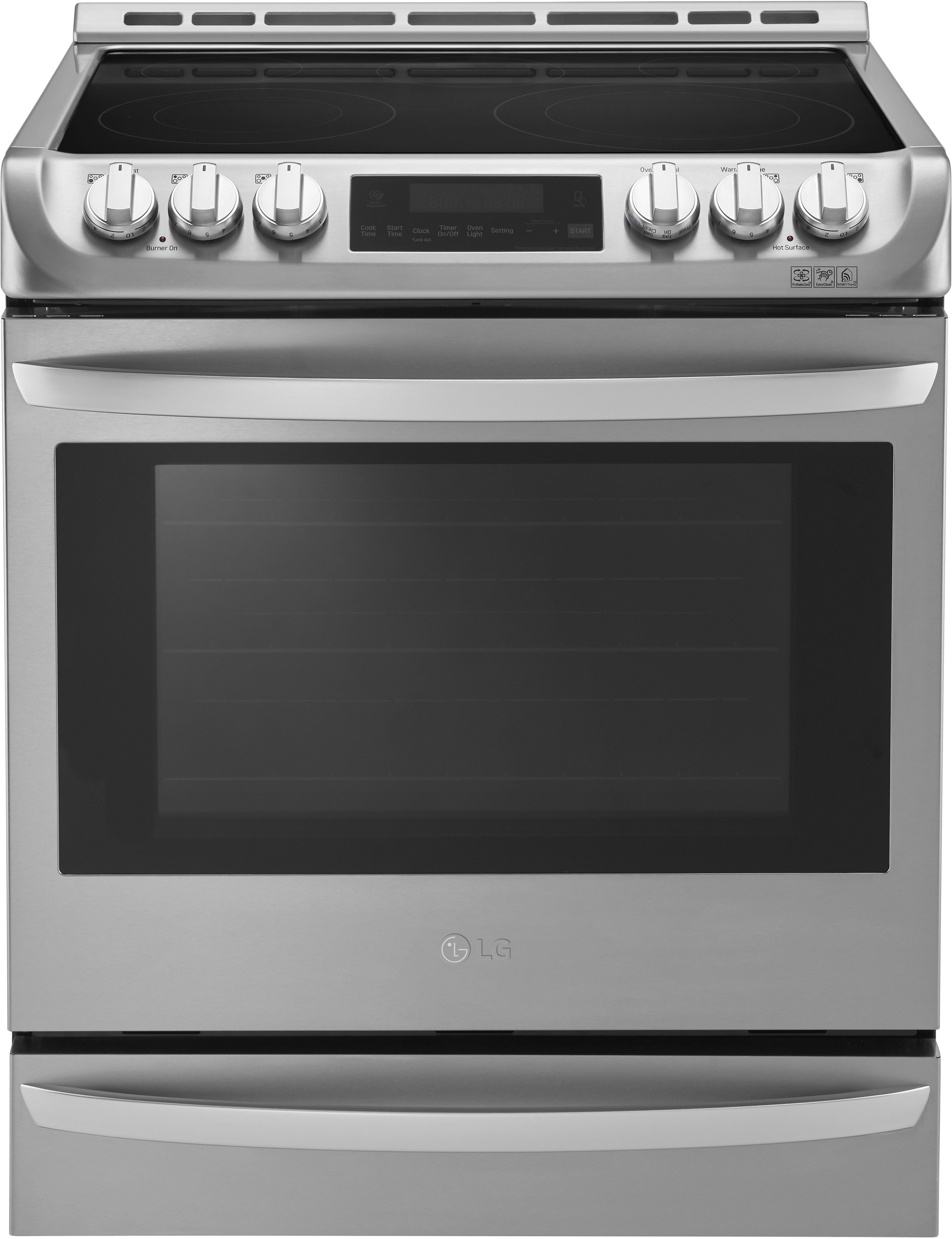 LG LSE4613ST 30 Inch Slide in Electric Range with ProBake Convection