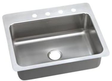 Elkay LSR2722PD2 27 Inch Drop-In/Undermount Stainless Steel Kitchen ...