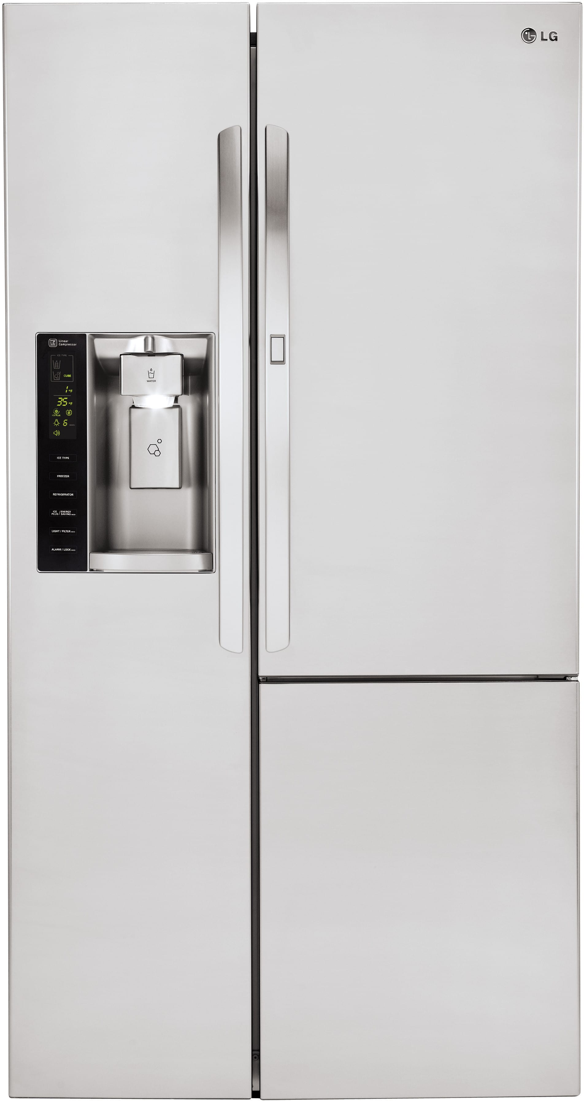 Lg Lsxc22486s 36 Inch Side By Side Refrigerator With Door