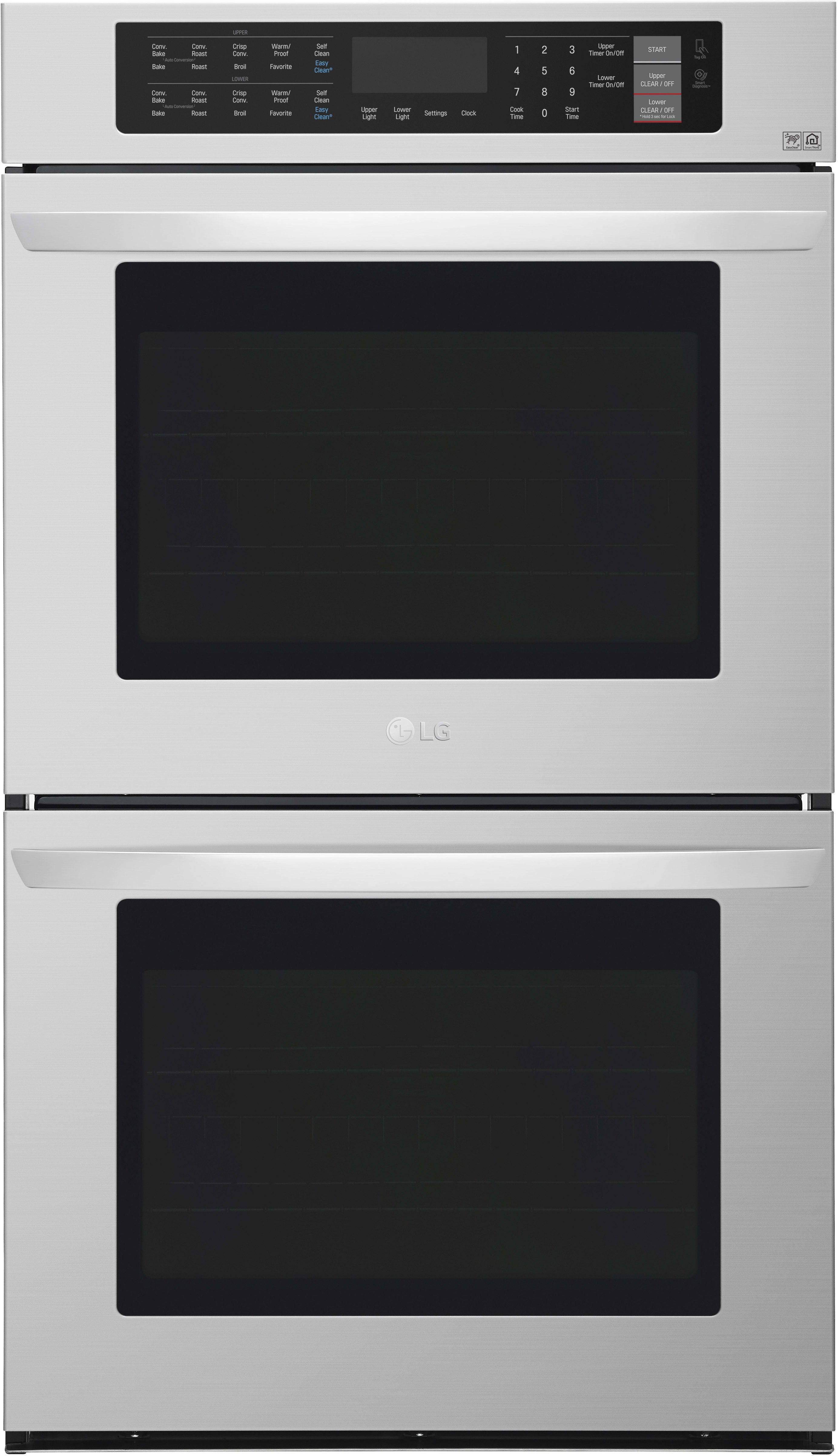Lg Lwd3063st 30 Inch Double Electric Wall Oven With