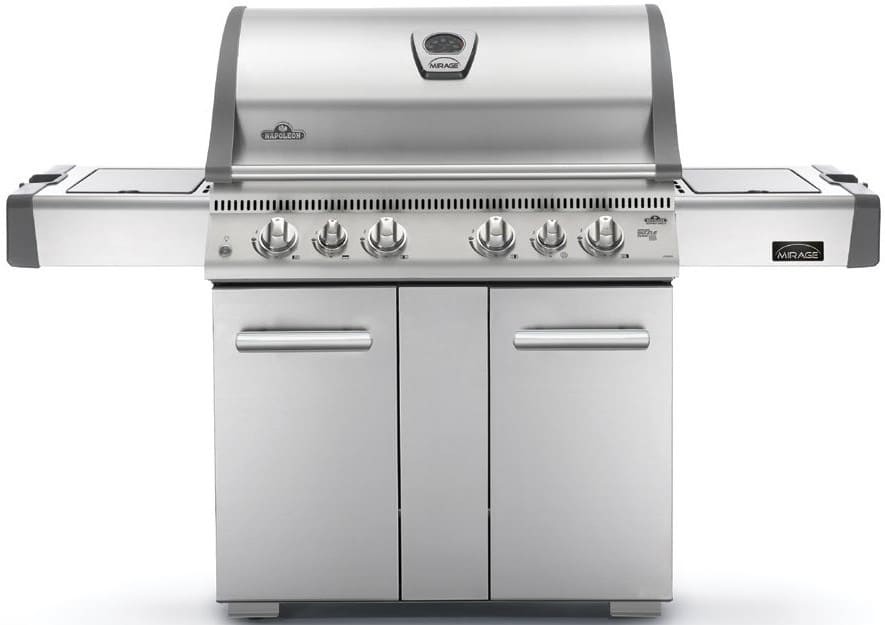 Napoleon Holzkohlegrill Charcoal Pro 605 : Napoleon lex rsbipss inch freestanding gas grill with