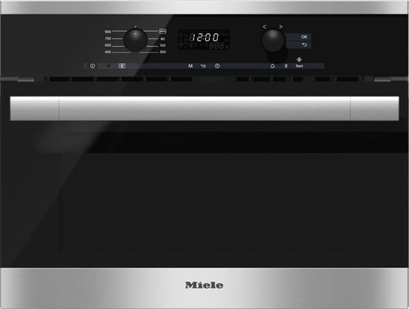 Miele M6160tc 24 Inch Built In Microwave Oven With 1 6 Cu