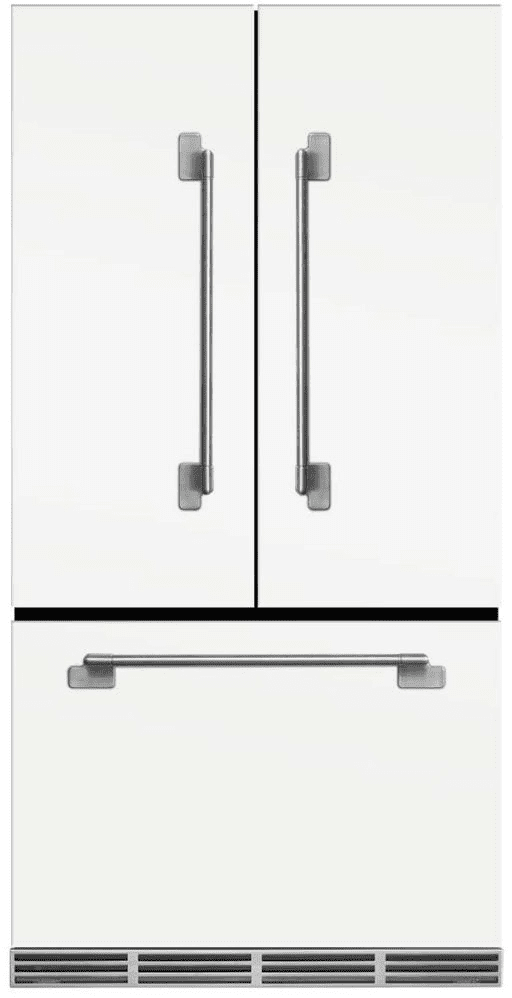 Kitchenaid Refrigerator White aga melfdr23wht 36 inch counter depth french-door refrigerator