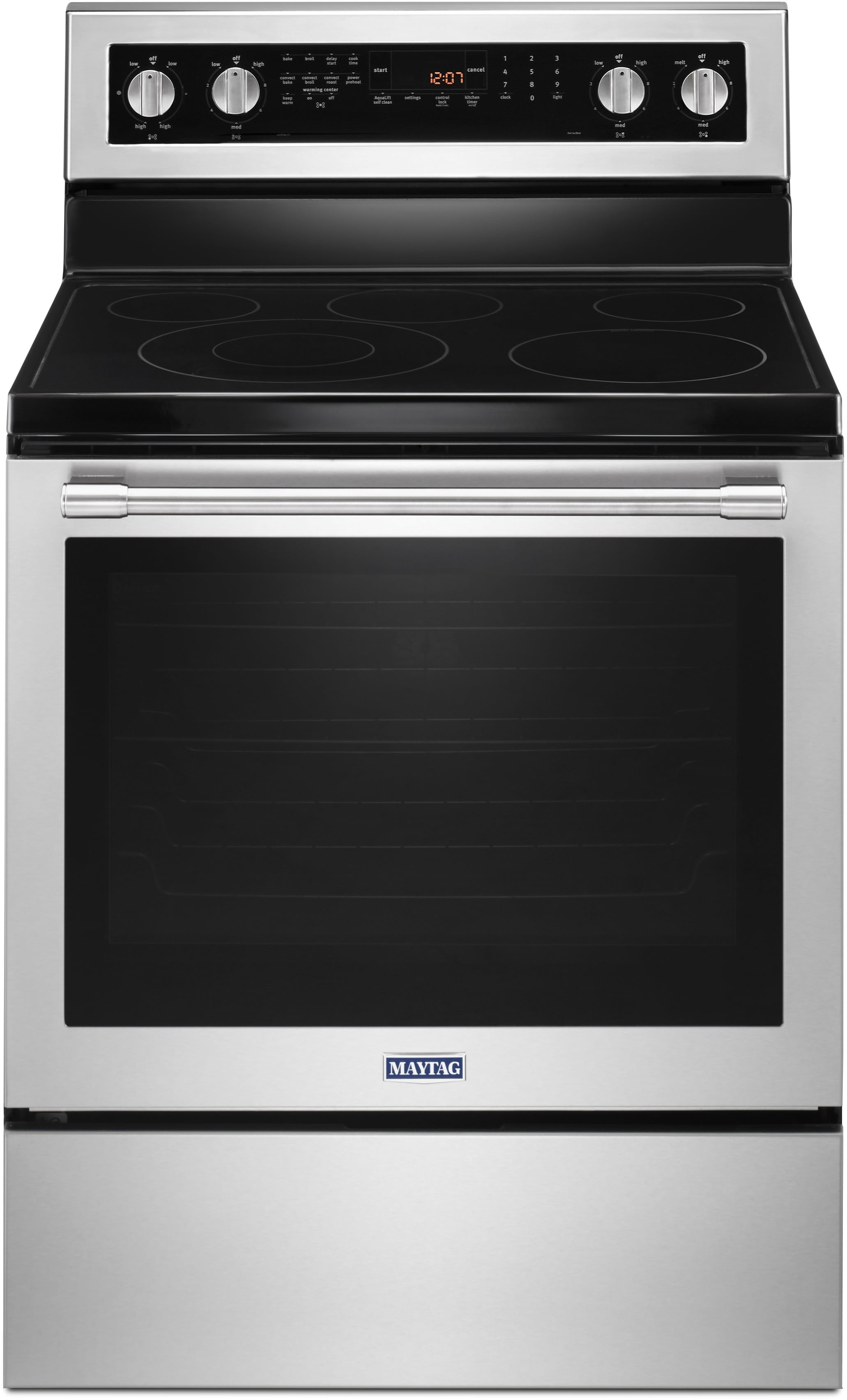 Maytag Mer8800fz 30 Inch Electric Range With Dual Choice