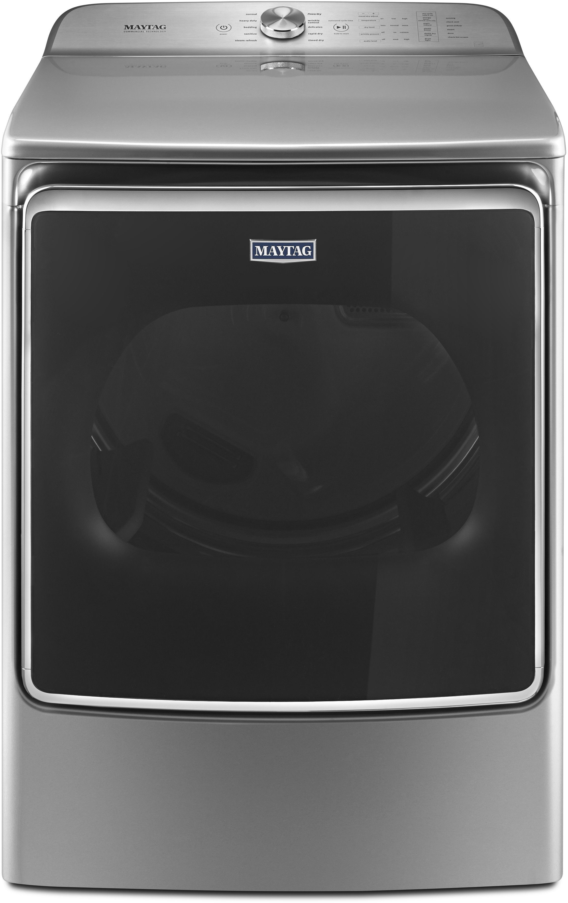 maytag mgdb955fc 29 inch gas dryer with 9 2 cu ft capacity steam 10 dry cycle selections. Black Bedroom Furniture Sets. Home Design Ideas