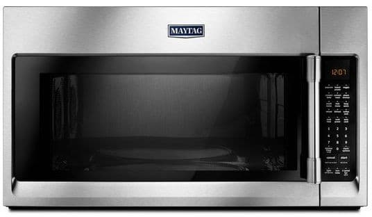 Maytag Mmv6190fz 1 9 Cu Ft Over The Range Microwave With