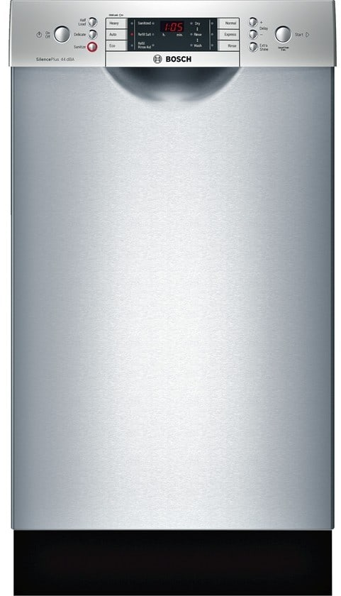 Bosch Spe68u55uc 18 Inch Full Console Dishwasher With 3rd