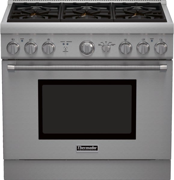 Thermador Pr366gh 36 Inch Pro Style Gas Range With