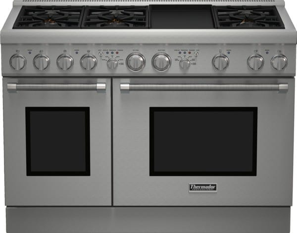 Thermador Prd486gdhu 48 Inch Pro Style Duel Fuel Range