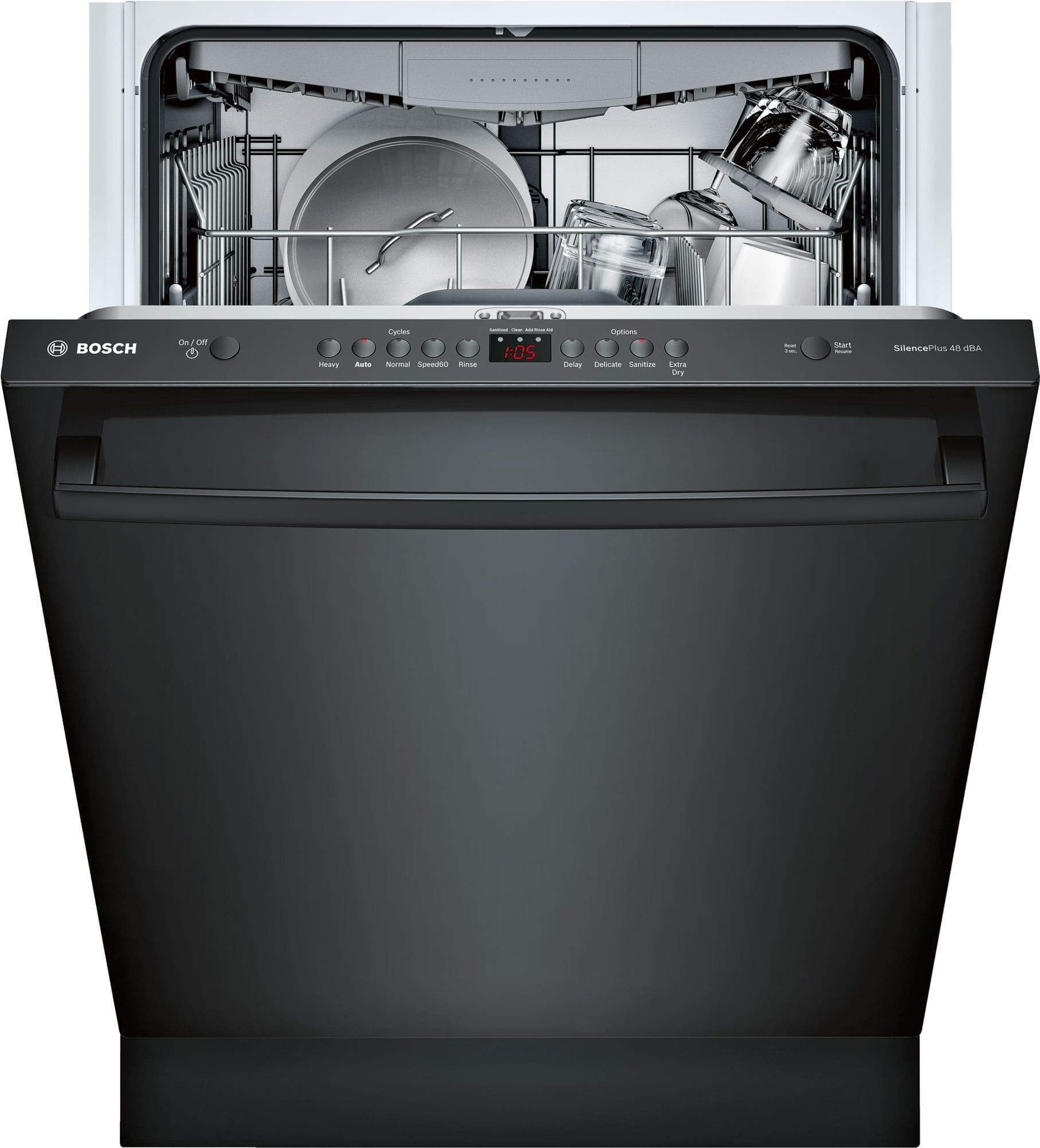 Bosch Shxm4ay56n Fully Integrated Dishwasher With 15 Place