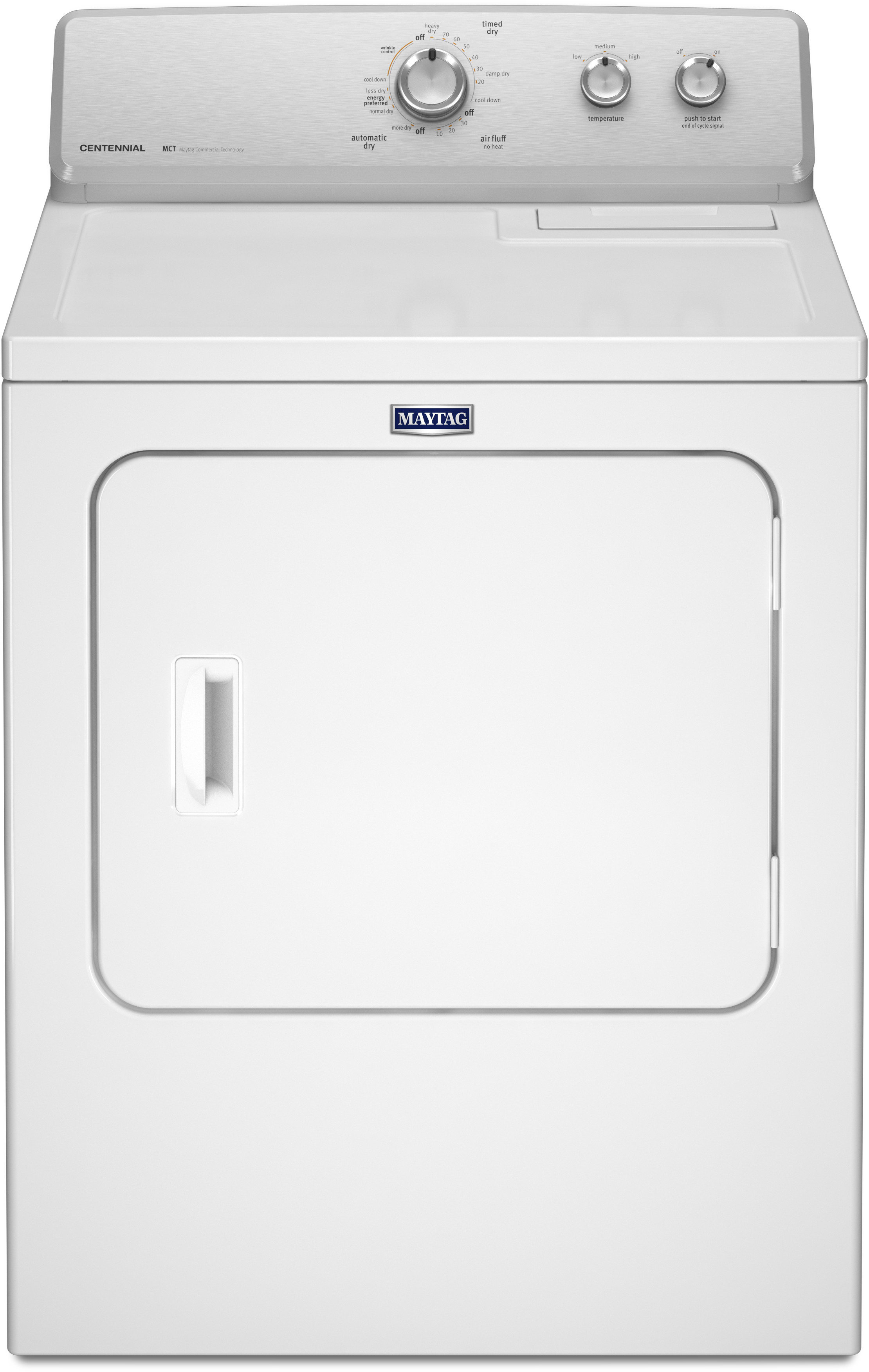 Maytag Medc215ew 29 Inch 7 0 Cu Ft Electric Dryer With