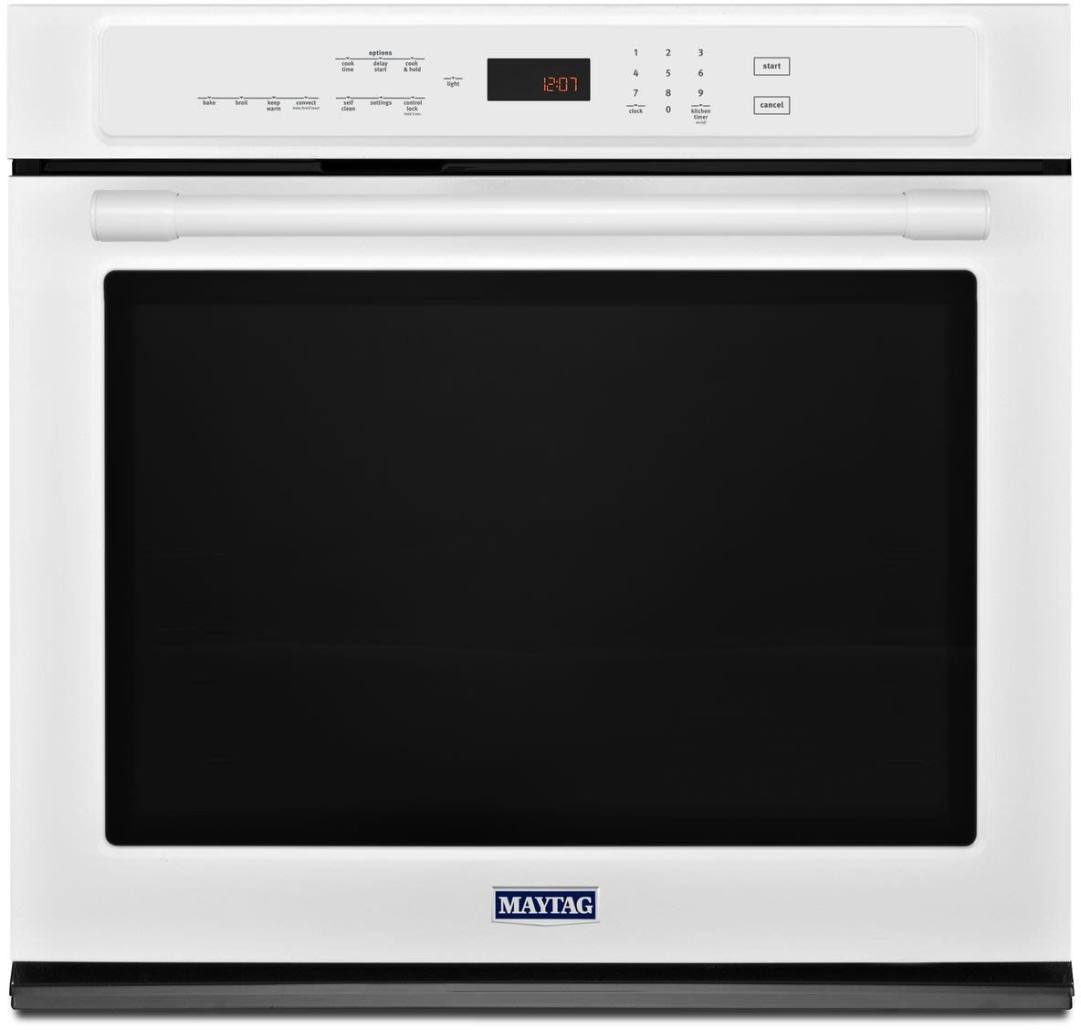 Maytag Mew9530fw 30 Inch Electric Wall Oven With 5 0 Cu