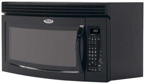 Whirlpool Mh3184xpb 1 8 Cu Ft Over The Range Microwave